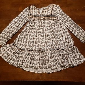 Zara Girls Soft Collection Boho Dress Size 9-10